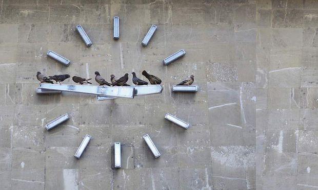 Untitled (Good Times, Bad Times), 3 Fotografien, Digitalprint, 2007 Anna Jermolaewa und Kerstin Engholm