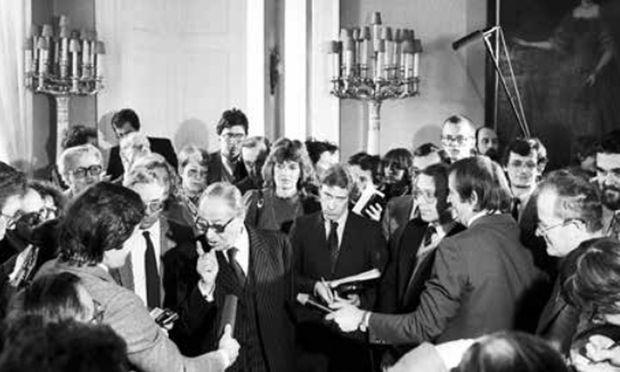 Fast ein Kulturschock:  Bruno Kreisky sprach mit den Journalisten wie kein Kanzler zuvor.