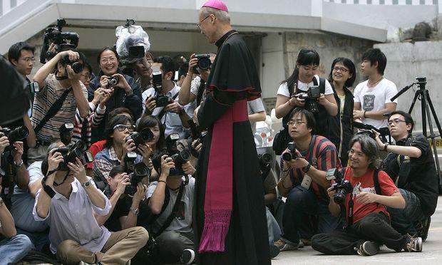 Bischof Tong gilt als Ko-Architekt eines umstrittenen Abkommens zwischen Vatikan und China.