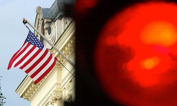 Archivbild: Die US-Botschaft in Wien