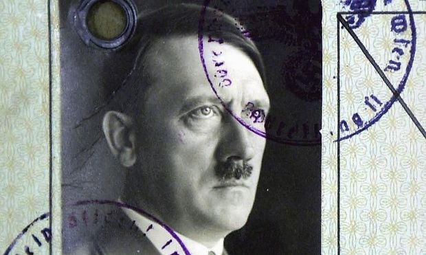 BRITAIN-HITLER-PASSPORT