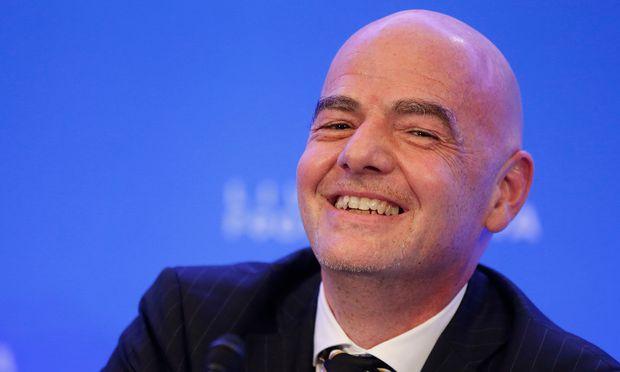 Gianni Infantino bleibt Fifa-Präsident.