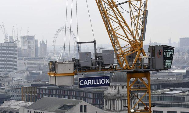 Die Carrillion-Pleite kratzte gewaltig am Image von PwC, KPMG, EY und Deloitte.