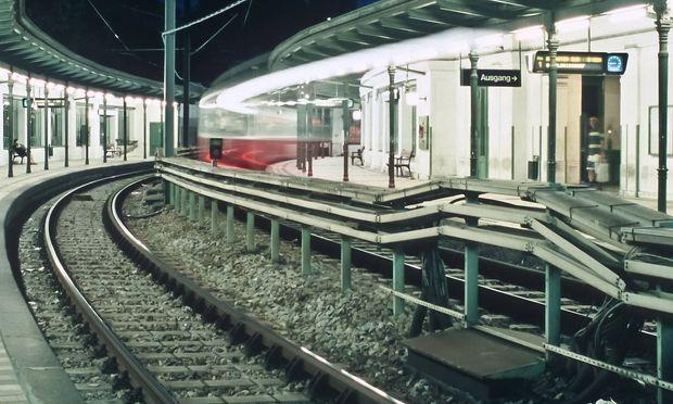 Archivbild: Die U6 bei der Station Gumpendorfer Straße