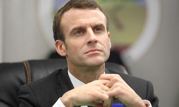 Präsident Emmanuel Macron