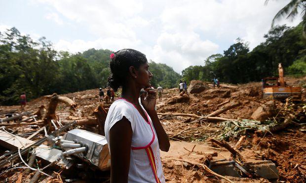 Überschwemmungen und Erdrutsche zerstörten viele Dörfer. / Bild: REUTERS