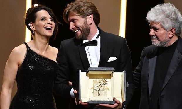 Goldene Palme für schwedischen Film - Preis für Diane Kruger