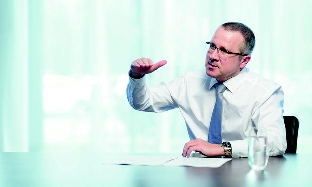 """Schnelligkeit entscheidet: """"Was heute eine Innovation ist, ist morgen Standard"""", sagt Robert Machtlinger."""