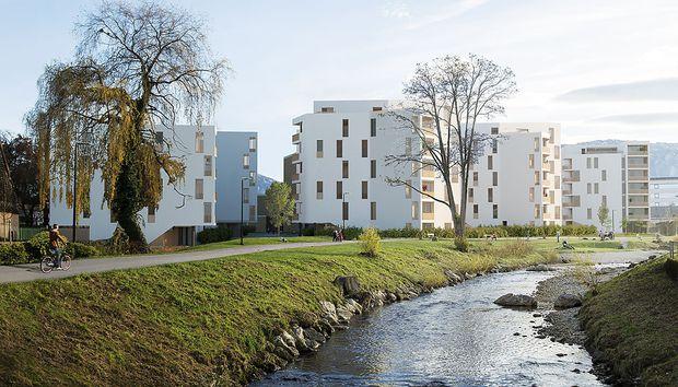 Rendering Quartier Rauchmühle