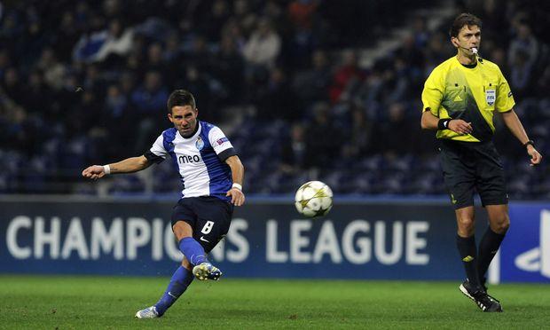 Joao Moutinho vom FC Porto