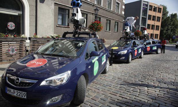 Litauen Google StreetView soll