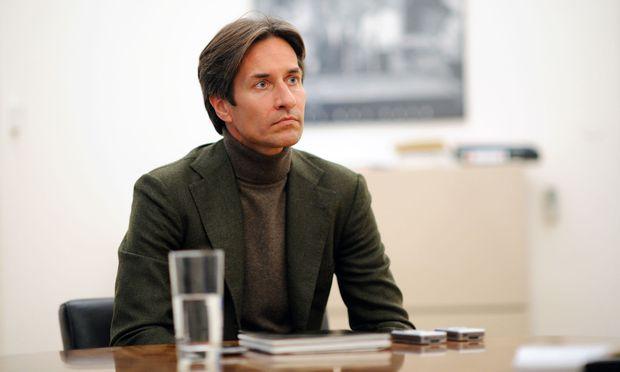 """Karl-Heinz Grasser (Bild: """"Presse""""-Exklusivinterview November 2014) blitzte mit seinem Einspruch beim OLG Wien ab."""