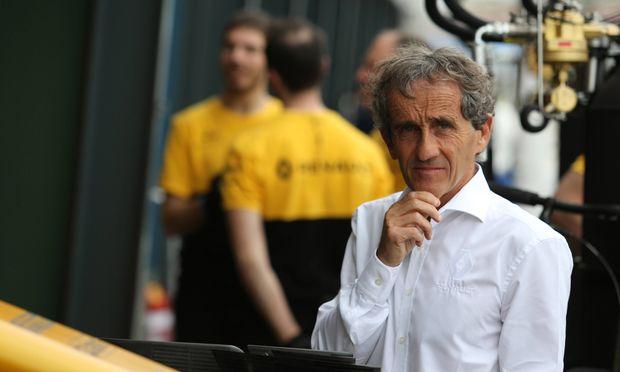 Die Erfahrung von 199 Grand Prix, 51 Rennsiegen und vier WM-Titeln: Alain Prost ist seit 2017 Sonderberater des Renault-Teams. Grand Prix Melbourne 23 26 March 2017 24 03 2017 Free Practice 1 Alain Prost FRA