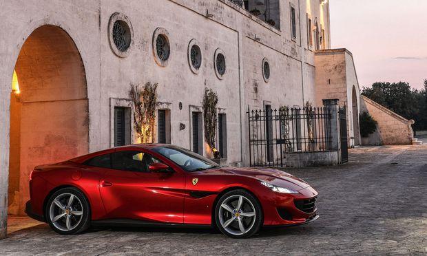 Ferrari Portofino Ferrari Hat Ein Neues Einstiegsmodell 171 Diepresse Com