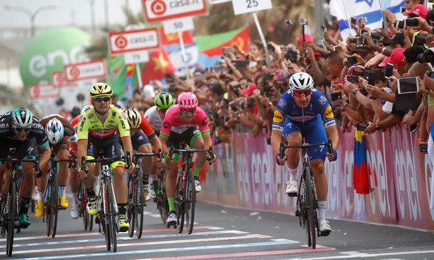 Lokalmatador holt sich zweite Giro-Etappe