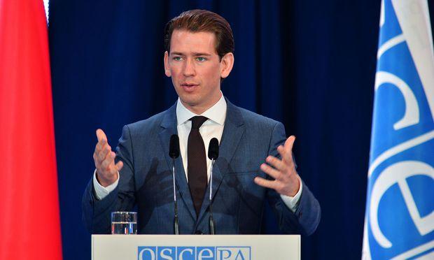 Kurz erzwingt Durchbruch bei OSZE in Mauerbach