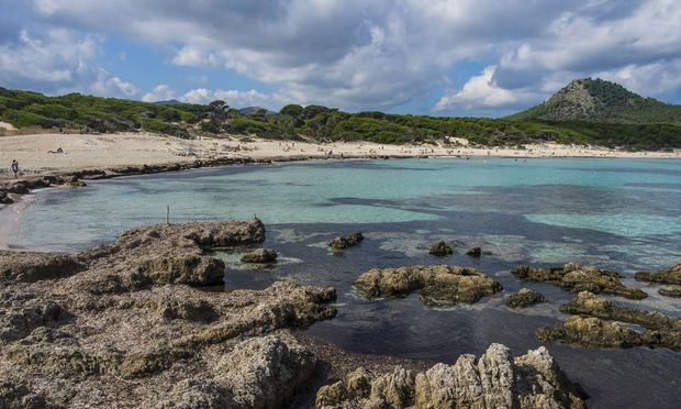 Der Cala Ratjada-Stand auf Mallorca