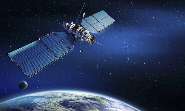 Symbolbild Satellit.