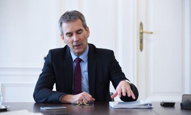 Finanzminister Hartwig Löger pocht auf Budgetdisziplin.