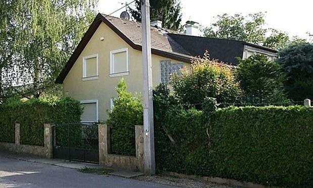 In diesem Haus in Strasshof wurde Natascha Kampusch festgehalten.