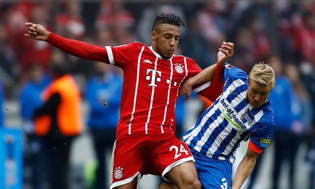 Hertha gegen Bayern