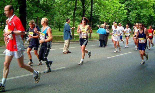 Marathonlauf in Wien