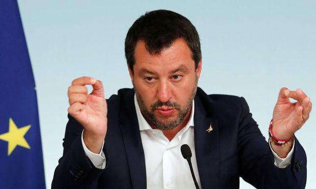 Matteo Salvini bringt das meiste Gewicht in die Rechtsallianz ein