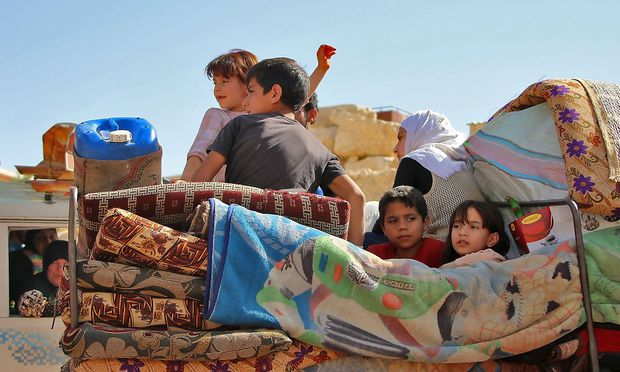 24,9 Prozent der im vergangenen Jahr in Europa angekommen Flüchtlinge, waren Kinder.