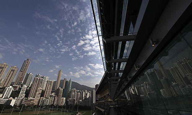 CHINA HONG KONG ECONOMY PROPERTY