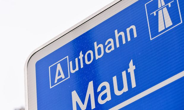 Symbolbild: Autobahnmaut.