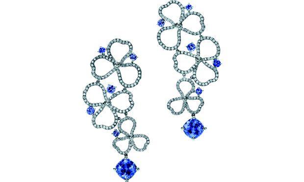 Jubilar. Der blaue Tansanit wurde 1968 von Tiffany als erster Schmuckmarke verarbeitet.