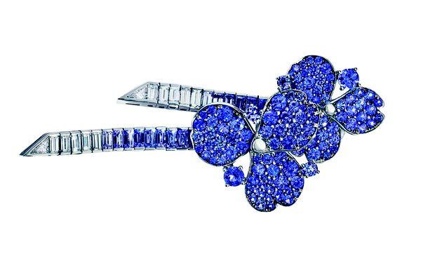Rarität. Teil der limitierten High-Jewellery-Nebenlinie sind diese kostbaren Ohrgehänge.