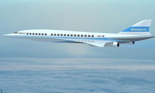 Bereits 76 Bestellungen für Concorde-Nachfolger Boom