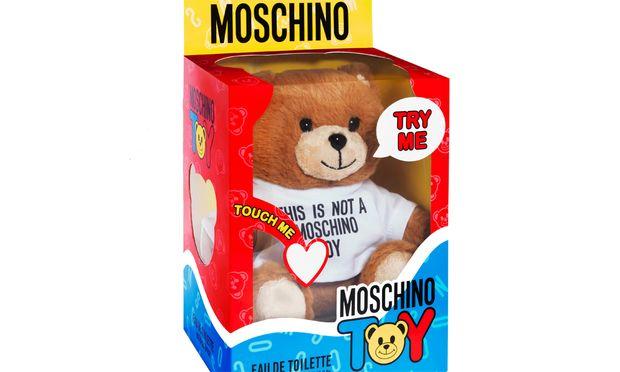 """Frohsinnig. """"Toy"""" von Moschino, um 98 Euro via www.moschino.it."""