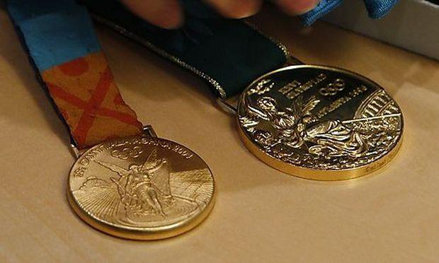Symbolfoto: Olympiamedaillen