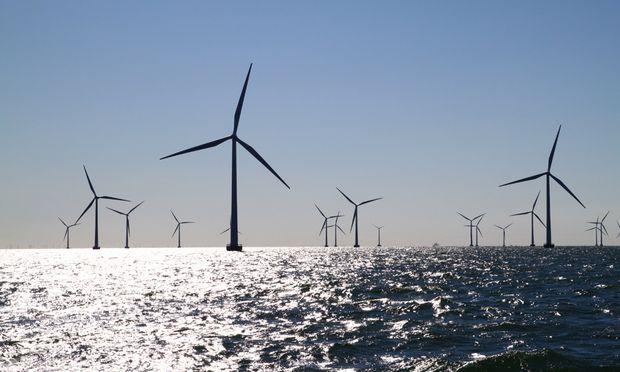 Flaute Windkraft Meer