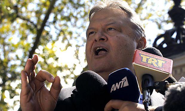 Finanzminister Venizelos soll vor Abgeordneten einen Schuldenschnitt als mögliches Szenario genannt haben