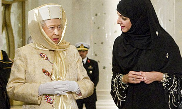 Queen Elizabeth Bereist Die Golfstaaten Diepresse Com