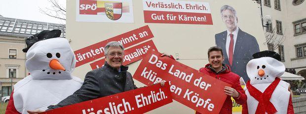 SPÖ-Wahlkampf: Kärntner sollen sich als Kaiser verkleiden und ...