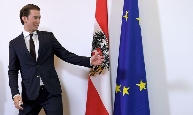 Sebastian Kurz hofft auf einen starken EU-Kurs gegen die US-Politik.