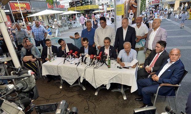 Medientermin der Österreichisch-Türkischen Demokratie-Plattform am Dienstag.