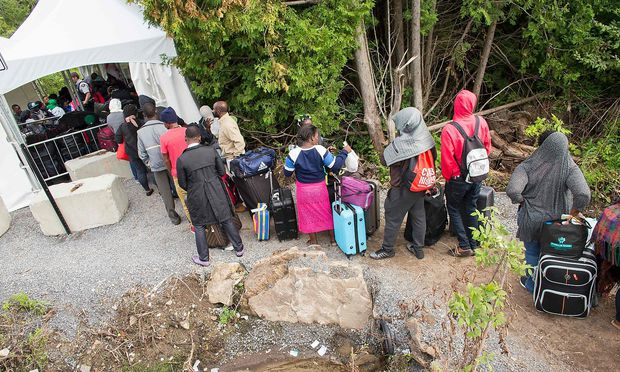 Kanada erwartet Flüchtlingsansturm aus USA