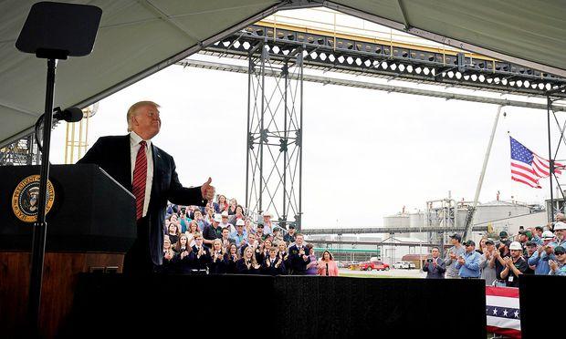 Trump will 2020 als US-Präsident wiedergewählt werden.