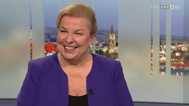 Die Gesundheit- und Sozialministerin.