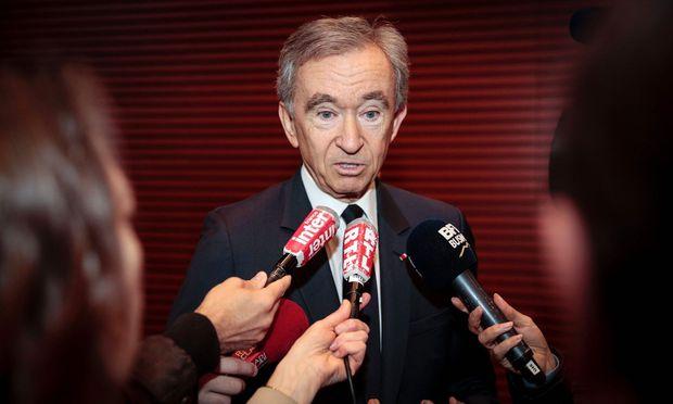 LVMH-Mehrheitseigentümer Bernard Arnault: Die Luxusaktie hat im Falle eines Macron-Siegs bei den französischen Präsidentenwahlen viel Potenzial.