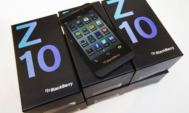 Blackberry zieht sich offenbar