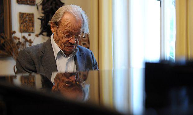 Friedrich Cerha dirigiert wieder