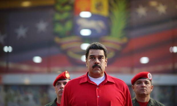 Der umstrittene Präsident Maduro
