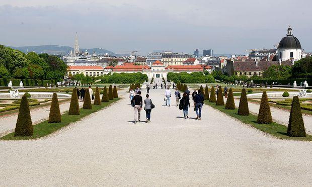 Belvdere in Wien