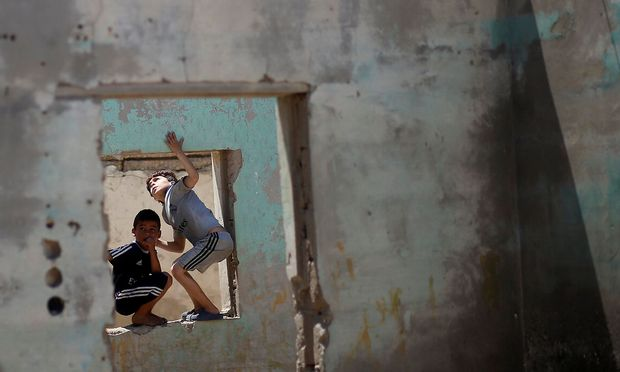 Zerstörtes Gaza